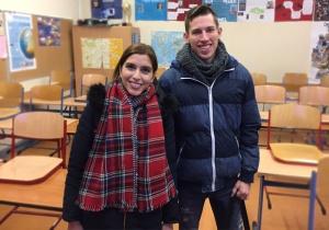 Frau Aktas und Herr Klein